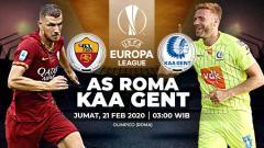 Indosport - Link Live Streaming Pertandingan Liga Europa AS Roma vs Gent