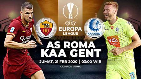 Berikut prediksi pertandingan leg pertama 32 besar Liga Europa antara AS Roma vs Gent. Jumat (21/02/20). - INDOSPORT