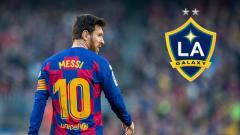 Indosport - LA Galaxy berpeluang datangkan pemain megabintang Barcelona, Lionel Messi.