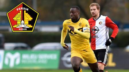 Klub promosi Liga 1 2020 Persik Kediri dikabarkan tengah mengincar eks pemain Liga Belanda pada bursa transfer musim ini, yakni Doriano Kortstam. - INDOSPORT
