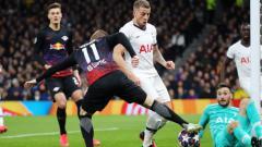 Indosport - Sejumlah rekor mencengangkan sepertinya tersembunyi dalam laga Liga Champions Tottenham Hotspur vs RB Leipzig.