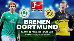Indosport - Berikut prediksi pertandingan Bundesliga Jerman antara Werder Bremen vs Borussia Dortmund, Sabtu (22/02/20).