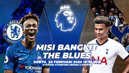 Pertandingan antara Chelsea vs Tottenham Hotspur (Liga Primer). - INDOSPORT
