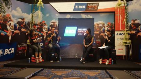 Super League Triathlon (SLT) telah menjawab panggilan dari arena yang berkembang di Indonesia dan akan kembali ke Bali pada 3-5 April mendatang. - INDOSPORT