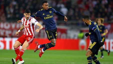 Link Live Streaming Pertandingan Liga Europa Arsenal vs Olympiakos - INDOSPORT