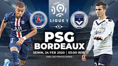 PSG akan menjamu Bordeaux dalam laga lanjutan Ligue 1 Prancis pekan ke-26 yang akan berlangsung pada hari Senin (24/2/2020) pukul 03.00 WIB di Parc des Princes. - INDOSPORT
