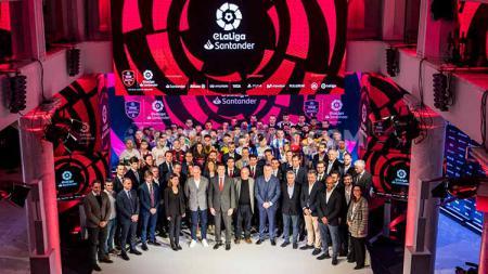 LaLiga Spanyol akan menggelar musim ketiga turnamen eSports eLaLiga Santander yang akan diikuti oleh 34 tim klub asal negeri Matador. - INDOSPORT