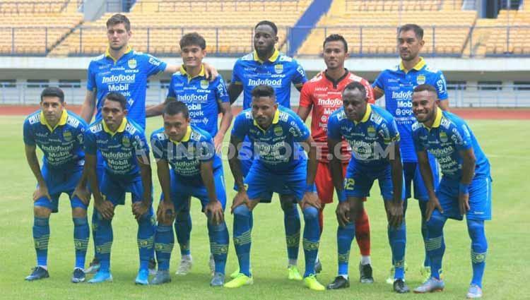Skuat Persib Bandung. Copyright: Arif Rahman/INDOSPORT