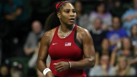 Serena Williams di turnamen kualifikasi Piala Fed. - INDOSPORT