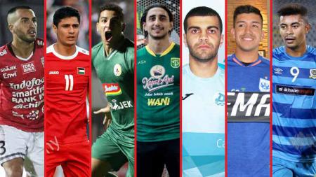 Ketika negara kawasan Timur Tengah mulai jadi primadona di Liga 1. - INDOSPORT