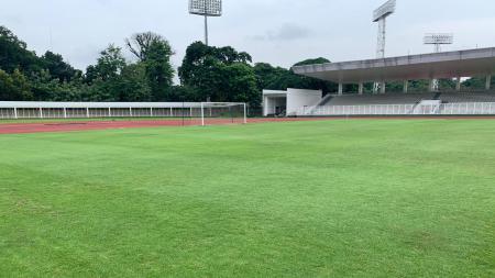Dewa United memakai Stadion Madya Senayan, Jakarta untuk babak penyisihan grup sekaligus tuan rumah grup B Liga 2. - INDOSPORT