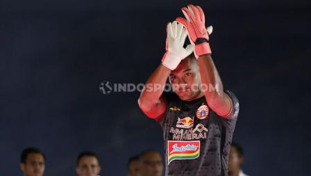 Jersey warna hitam akan digunakan oleh Andritany Ardhiyasa saat menjaga gawang Persija Jakarta di ajang Liga 1 2020