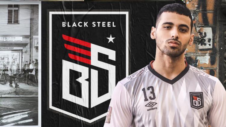 Jersey kandang dan tandang Blacksteel FC diajang Pro Futsal League (PFL) 2020 Indonesia. Copyright: Media Officer Blacksteel FC