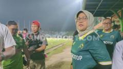 Indosport - Bupati Bogor, Ade Yasin saat mengesahkan nama Persikabo 1973.