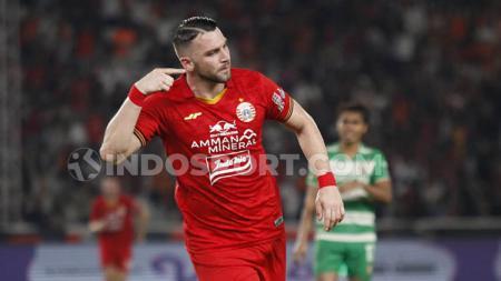AFC ternyata masih mengingat kehebatan bomber asing Persija, Marko Simic, ketika mencetak empat gol ke gawang klub Malaysia, Johor Darul Takzim. - INDOSPORT