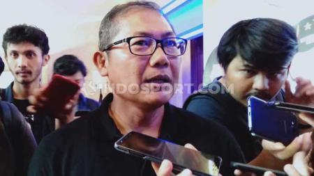 COO Bhayangkara FC, Sumardji berharap tak akan ada masalah lagi setelah pengunduran diri Cucu Somantri dari PT LIB. - INDOSPORT