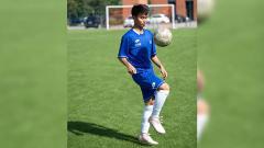 Indosport - Emir Eranoto, bakat muda Indonesia ini diketahui telah sembuh dari cedera dan berhasil mencetak gol untuk klubnya, San Marco Juventina, di Liga Italia.