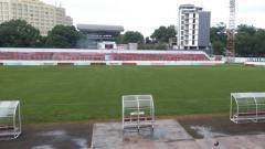 Indosport - Stadion Klabat Manado, kandang sementara klub Liga 1 Persipura Jayapura.