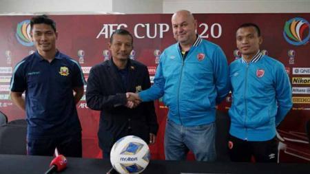 Pre Match Press Conference PSM Makassar vs Shan United di ajang Piala AFC 2020. - INDOSPORT