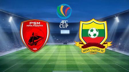 Tak disangka, peringkat AFC PSM Makassar jauh loncati wakil Myanmar Shan United jelang kedua tim bertemu di Piala AFC 2020, Rabu (26/02/20). - INDOSPORT
