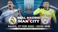 Indosport - Prediksi pertandingan antara Real Madrid vs Manchester City di Liga Champions.