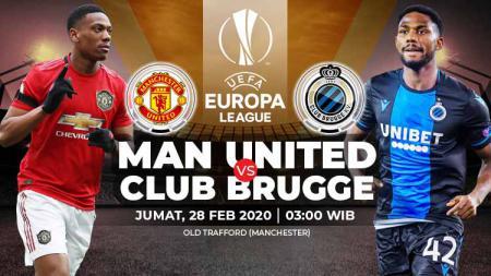Link Live Streaming Liga Europa Manchester United vs Club Brugge - INDOSPORT