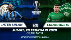 Indosport - Prediksi pertandingan antara Inter Milan vs Ludogorets (Liga Europa).