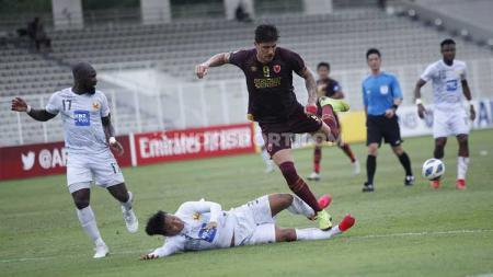 PSM Makassar berhasil meraih kemenangan perdana diajang Piala AFC 2020 atas klub Myanmar, Shan United, dengan skor 3-1. - INDOSPORT