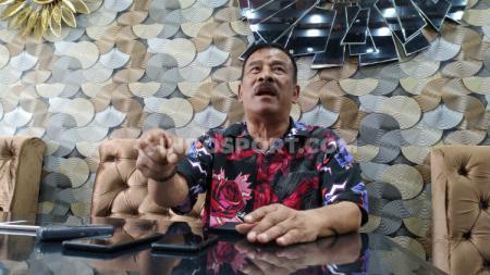 Umuh Muchtar, Komisaris PT Persib Bandung Bermartabat. - INDOSPORT