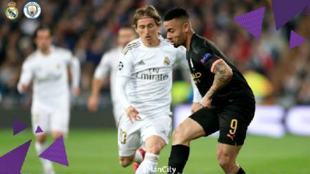 Gara-gara Manchester City alami insiden ini, Real Madrid berkesempatan menang mudah pada leg kedua 16 besar Liga Champions. - INDOSPORT