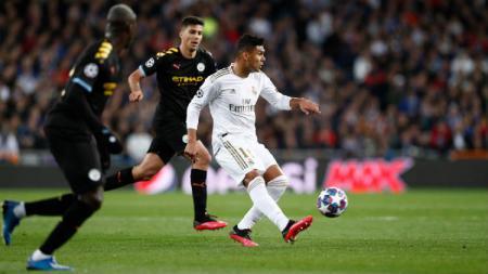 Pertandingan leg kedua babak 16 besar Liga Champions 2019/20 antara Manchester City vs Real Madrid bisa saja dihelat di Portugal. - INDOSPORT