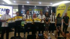 Indosport - Ajang balap sepeda bertajuk L Etape Indonesia by Tour de France di Lombok.