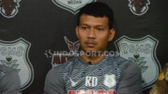 Indosport - Pemain anyar klub Liga 2 PSMS Medan, Agung Prasetyo, salah satu pemain yang turut angkat suara perihal kontrak ulang pemain.