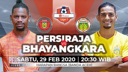 Pertandingan antara Persiraja Banda Aceh vs Bhayangkara FC (Liga 1). - INDOSPORT