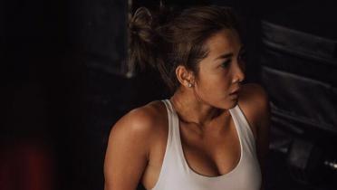 Andrea Dian Beberkan Rahasia Miliki Tubuh Kekar dan Atletis