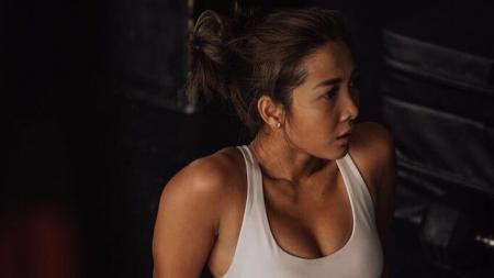 Andrea Dian Bimo, aktris cantik Indonesia yang positif terkena virus Corona. - INDOSPORT