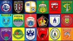 Logo klub-klub Liga 1 2020.