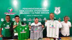 Indosport - PSMS Medan akhirnya resmi mendapat sponsor untuk mengarungi ketatnya kompetisi Liga 2 musim 2020.