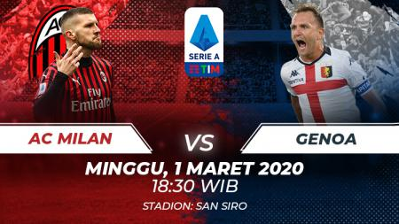Berikut prediksi antara AC Milan vs Genoa dalam lanjutan Serie A Italia pekan ke-26, Minggu (01/03/20) malam WIB. - INDOSPORT