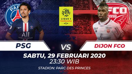 Berikut prediksi pertandingan Ligue 1 Prancis antara PSG vs Dijon, Sabtu (29/02/20), mulai pukul 23.30 WIB. - INDOSPORT