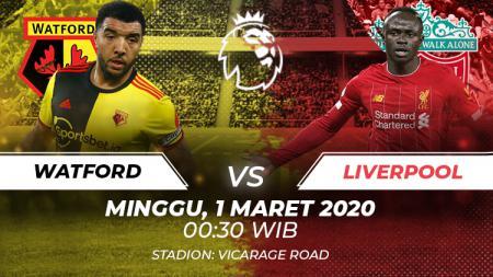 Berikut prediksi pertandingan Watford vs Liverpool dalam lanjutan ajang Liga Inggris pada Minggu (01/03/20) dini hari di Vicarage Road. - INDOSPORT