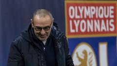 Indosport - Maurizio Sarri, pelatih klub Serie A Italia, Juventus.