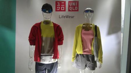 Produsen pakaian asal Jepang, UNIQLO, memperkenalkan inovasi baru untuk konsumen yang senang berolahraga dalam kategori Sport Utility Wear di Paradigm Fitness Center, Jakarta, Jumat (28/02/20). - INDOSPORT