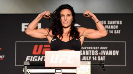Petarung wanita MMA, Cat Zingano. - INDOSPORT