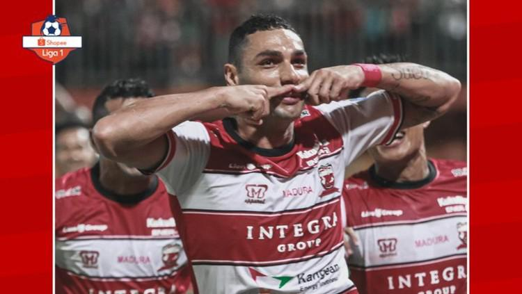 Hasil Pertandingan Liga 1 2020 Madura United vs Barito Putera: Bruno Matos Menggila