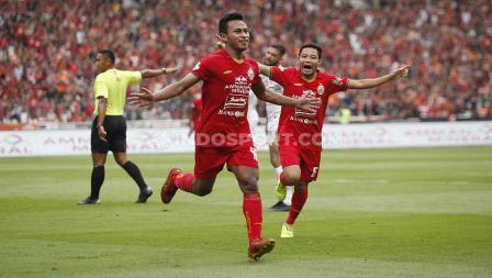 Hanya butuh 21 menit bagi Osvaldo Haay untuk mencetak gol perdananya di Liga 1 2020 bersama Persija Jakarta saat menghadapi Borneo FC.