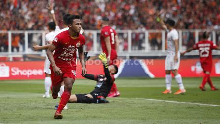 Osvaldo Haay menjadi pemain pertama yang mencetatkan namanya di papan skor dalam laga Liga 1 2020 antara Persija Jakarta vs Borneo FC.