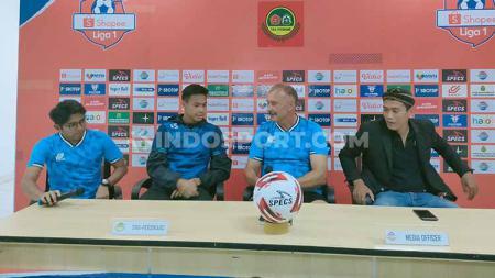 Jelang laga pekan pertama Liga 1 2020 antara Tira Persikabo vs Arema FC, Igor Nikolayevich Kriushenko meminta fans memenuhi Stadion Pakansari. - INDOSPORT