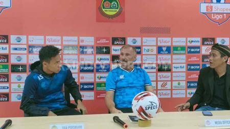 Striker asing andalan Arema FC, Jonathan Bauman dipastikan absen saat menghadapi tuan rumah Tira Persikabo dalam Liga 1 2020 di Stadion Pakansari. - INDOSPORT