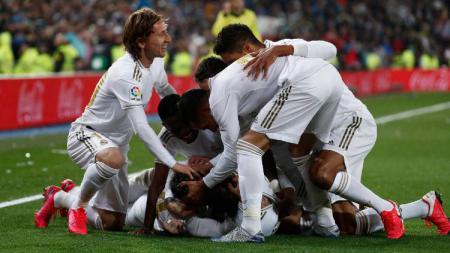 LaLiga Spanyol pastikan bakal kembali pada 11 Juni nanti. Siapa sangka Real Madrid akan rasakan sensasi turun kasta menyambut sisa musim. - INDOSPORT